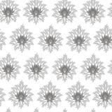 Oryginału bezszwowy monochromatyczny wzór Fotografia Royalty Free