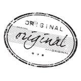 oryginału znaczek Obraz Royalty Free