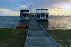 Oryginalna domowa łódź, buda/ Obraz Stock