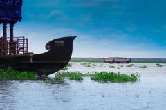Oryginalna domowa łódź, buda/ Fotografia Royalty Free