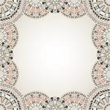 Oryginalna sztuka abstrakta granica Obraz Royalty Free