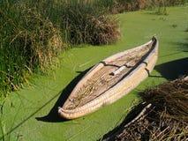 oryginalne trzcinowi uros łodzi Zdjęcia Royalty Free