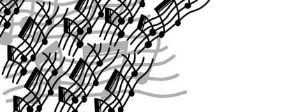 Oryginalnej muzyki rama Obrazy Royalty Free