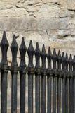 Oryginalny średniowieczny żelaza ogrodzenie Zdjęcie Royalty Free