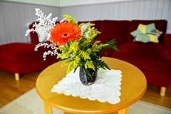 Oryginalny bukiet kwiaty Fotografia Royalty Free