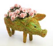 Oryginalny flowerpot Zdjęcia Royalty Free
