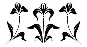 oryginalny kwiecisty ornamentu wektora Fotografia Stock