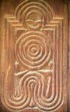 Oryginalny rysunek woodcarving Zdjęcia Stock