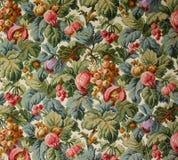 Oryginalny tekstylnej tkaniny ornament makata Kapcan jest ręcznie malowany z guaszem Obrazy Royalty Free