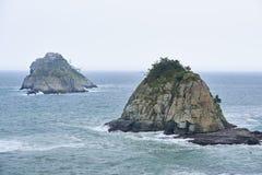 Oryukdo wyspa Obrazy Royalty Free