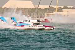 Oryx Cup H1 World Championship Boat racing Royalty Free Stock Photo