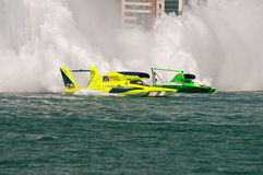 Oryx Cup H1 World Championship Boat racing stock images