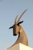 Oryx monument in Doha, Qatar Stock Photography