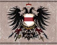 orzeł heraldyczny royalty ilustracja