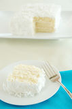 orzech kokosowy tort Zdjęcia Stock