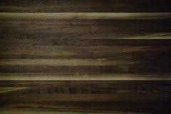 Orzech włoski masarki bloku deska Obrazy Stock