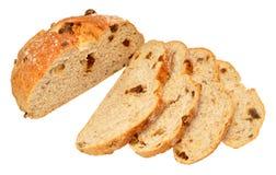 Orzecha włoskiego I daty Cob chleb obraz stock