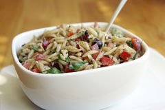 Orzo Salad Royalty Free Stock Photos