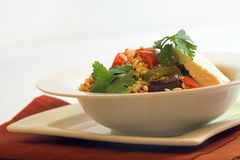 Orzo salad Stock Images