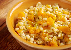 Orzotto con zucca Royalty Free Stock Image