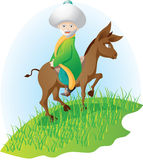 osła mężczyzna royalty ilustracja