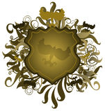 Osłona Emblemat Zdjęcie Stock
