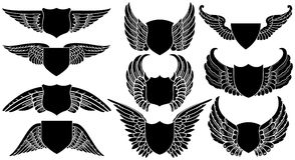 osłony skrzydła Obrazy Royalty Free