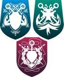 osłony trzy Zdjęcie Royalty Free