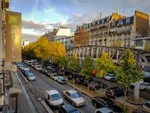 OS ÍBIS DENOMINAM PARIS EIFFEL CAMBRONNE, PARIS, FRANÇA - EM NOVEMBRO DE 2016 Foto de Stock Royalty Free