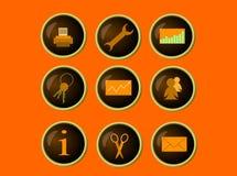 Os ícones Fotografia de Stock