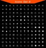 Os ícones ajustaram-se nenhum 08 Fotos de Stock Royalty Free