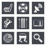 Os ícones para o design web ajustaram 39 Fotografia de Stock