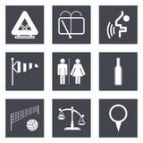 Os ícones para o design web ajustaram 45 Imagens de Stock Royalty Free