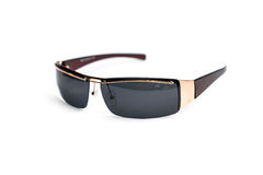 Os óculos de sol isolaram o fundo branco Foto de Stock