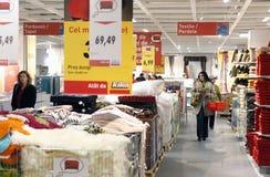 Os acessórios Home armazenam o interior Imagens de Stock