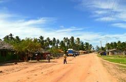 Os aldeões dos desconhecido vão aproximadamente seu negócio. Fotos de Stock