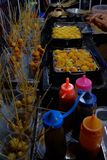 Os alimentos da rua foto de stock