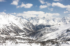 Os alpes Foto de Stock Royalty Free