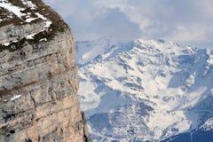 Os alpes franceses fotografia de stock royalty free