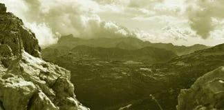 Os alpes julianos Fotos de Stock