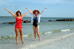 Os amigos sênior encalham férias Fotografia de Stock Royalty Free