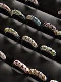 Os anéis Fotografia de Stock