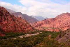 Os Andes na província de Salta, Argentina Fotografia de Stock