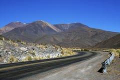 Os Andes na província de Salta, Argentina Fotografia de Stock Royalty Free