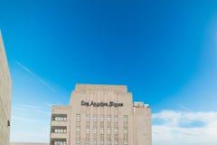 OS Angeles tajmar byggnad i i stadens centrum L A Fotografering för Bildbyråer