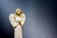 Os anjos estão rezando para nós fotografia de stock