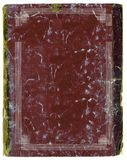Os anos 20 velhos denominam o livro de nota com bordas gravadas Imagens de Stock