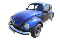 Os anos 60 alemães do carro do vintage Imagens de Stock Royalty Free