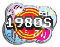 os anos 80 Foto de Stock
