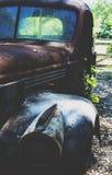 Os anos 40 abandonados de oxidação Chevy Fotos de Stock Royalty Free